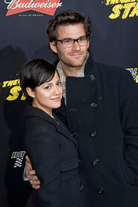 HOLLYWOOD, CA - JANUARY 14: Actor Johnny Whitworth (R) and actress Sylvia Brindis arrive at the premiere of Lionsgate Films' 'The Last Stand' at Grauman's Chinese Theatre on Monday, January 14, 2013 in Hollywood, California. (Photo by Tom Sorensen/Moovieboy Pictures)