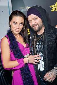HOLLYWOOD, CA - JANUARY 14:  Missy Rothstein and Actor Bam Margera arrive at the premiere of Lionsgate Films' 'The Last Stand' at Grauman's Chinese Theatre on Monday, January 14, 2013 in Hollywood, California. (Photo by Tom Sorensen/Moovieboy Pictures)