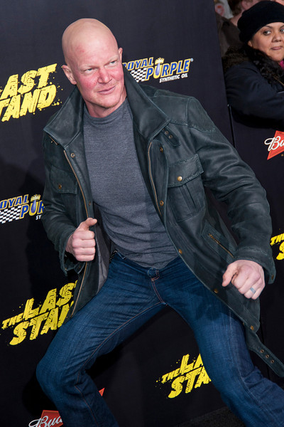 HOLLYWOOD, CA - JANUARY 14: Actor Derek Mears arrives at the premiere of Lionsgate Films' 'The Last Stand' at Grauman's Chinese Theatre on Monday, January 14, 2013 in Hollywood, California. (Photo by Tom Sorensen/Moovieboy Pictures)