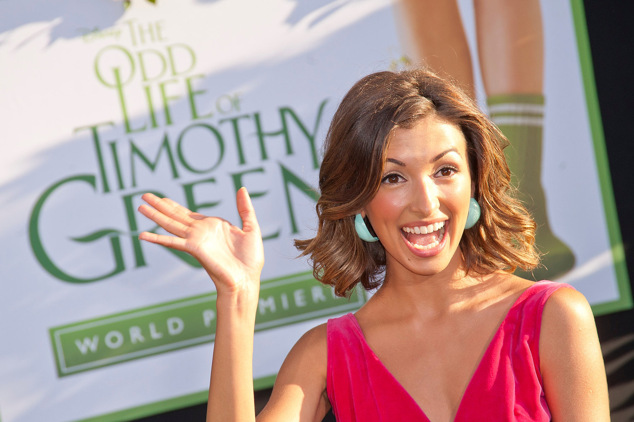 HOLLYWOOD, CA - AUGUST 06: Actress India de Beaufort arrives at the 'The Odd Life Of Timothy Green' - Los Angeles Premiere at the El Capitan Theatre on Monday, August 6, 2012 in Hollywood, California. (Photo by Tom Sorensen/Moovieboy Pictures)