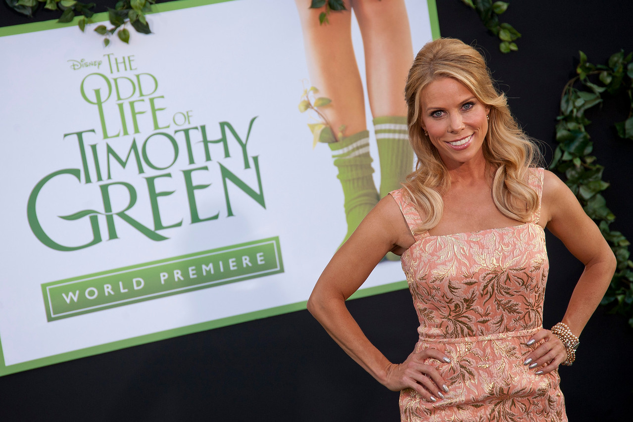 HOLLYWOOD, CA - AUGUST 06: Actress Cheryl Hines arrives at the 'The Odd Life Of Timothy Green' - Los Angeles Premiere at the El Capitan Theatre on Monday, August 6, 2012 in Hollywood, California. (Photo by Tom Sorensen/Moovieboy Pictures)