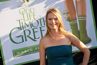HOLLYWOOD, CA - AUGUST 06: Actress Dorothy MacDonald arrives at the 'The Odd Life Of Timothy Green' - Los Angeles Premiere at the El Capitan Theatre on Monday, August 6, 2012 in Hollywood, California. (Photo by Tom Sorensen/Moovieboy Pictures)
