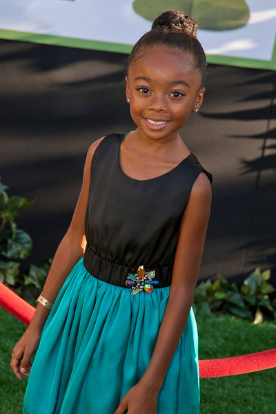 HOLLYWOOD, CA - AUGUST 06: Actress Skai Jackson arrives at the 'The Odd Life Of Timothy Green' - Los Angeles Premiere at the El Capitan Theatre on Monday, August 6, 2012 in Hollywood, California. (Photo by Tom Sorensen/Moovieboy Pictures)