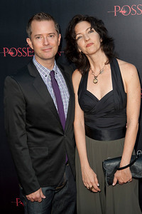 HOLLYWOOD, CA - AUGUST 28: Screenwriters Stiles White and Juliet Snowden arrive at the premiere of Lionsgate Films' 'The Possession' at ArcLight Cinemas on Tuesday, August 28, 2012 in Hollywood, California. (Photo by Tom Sorensen/Moovieboy Pictures)
