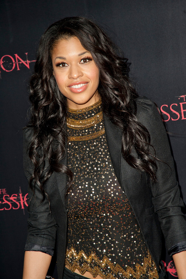 HOLLYWOOD, CA - AUGUST 28: Actress Kali Hawk arrives at the premiere of Lionsgate Films' 'The Possession' at ArcLight Cinemas on Tuesday, August 28, 2012 in Hollywood, California. (Photo by Tom Sorensen/Moovieboy Pictures)
