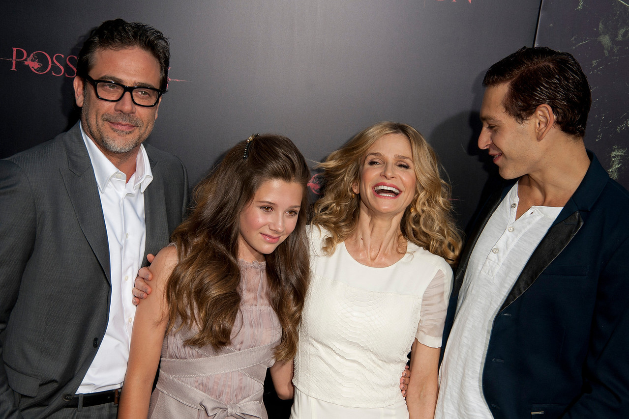 HOLLYWOOD, CA - AUGUST 28: Jeffrey Dean Morgan, Natasha Calls, Kyra Sedgwick and Matisyahu arrive at the premiere of Lionsgate Films' 'The Possession' at ArcLight Cinemas on Tuesday, August 28, 2012 in Hollywood, California. (Photo by Tom Sorensen/Moovieboy Pictures)