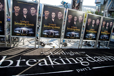 LOS ANGELES, CA - NOVEMBER 12: Atmosphere at the premiere of Summit Entertainment's 'The Twilight Saga: Breaking Dawn - Part 2' at Nokia Theatre L.A. Live on Monday, November 12, 2012 in Los Angeles, California. (Photo by Tom Sorensen/Moovieboy Pictures)