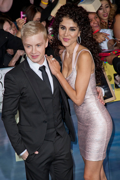 LOS ANGELES, CA - NOVEMBER 12: Actor Noel Fisher and Layla Alizada arrive at the premiere of Summit Entertainment's 'The Twilight Saga: Breaking Dawn - Part 2' at Nokia Theatre L.A. Live on Monday, November 12, 2012 in Los Angeles, California. (Photo by Tom Sorensen/Moovieboy Pictures)