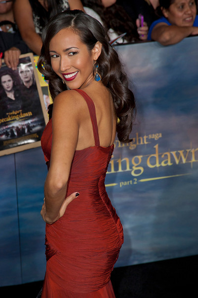 LOS ANGELES, CA - NOVEMBER 12: Marisa Quinn arrives at the premiere of Summit Entertainment's 'The Twilight Saga: Breaking Dawn - Part 2' at Nokia Theatre L.A. Live on Monday, November 12, 2012 in Los Angeles, California. (Photo by Tom Sorensen/Moovieboy Pictures)