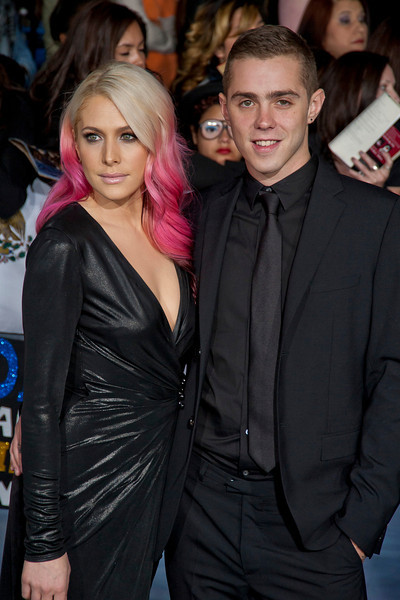 LOS ANGELES, CA - NOVEMBER 12: Actress Casey LaBow and actor Sammy Adams arrive at the premiere of Summit Entertainment's 'The Twilight Saga: Breaking Dawn - Part 2' at Nokia Theatre L.A. Live on Monday, November 12, 2012 in Los Angeles, California. (Photo by Tom Sorensen/Moovieboy Pictures)