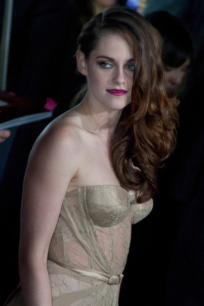 LOS ANGELES, CA - NOVEMBER 12: Actress Kristen Stewart arrives at the premiere of Summit Entertainment's 'The Twilight Saga: Breaking Dawn - Part 2' at Nokia Theatre L.A. Live on Monday, November 12, 2012 in Los Angeles, California. (Photo by Tom Sorensen/Moovieboy Pictures)