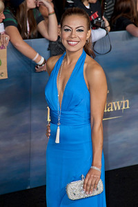 LOS ANGELES, CA - NOVEMBER 12: Actress Toni Trucks arrives at the premiere of Summit Entertainment's 'The Twilight Saga: Breaking Dawn - Part 2' at Nokia Theatre L.A. Live on Monday, November 12, 2012 in Los Angeles, California. (Photo by Tom Sorensen/Moovieboy Pictures)