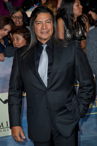 LOS ANGELES, CA - NOVEMBER 12: Gil Birmingham arrives at the premiere of Summit Entertainment's 'The Twilight Saga: Breaking Dawn - Part 2' at Nokia Theatre L.A. Live on Monday, November 12, 2012 in Los Angeles, California. (Photo by Tom Sorensen/Moovieboy Pictures)
