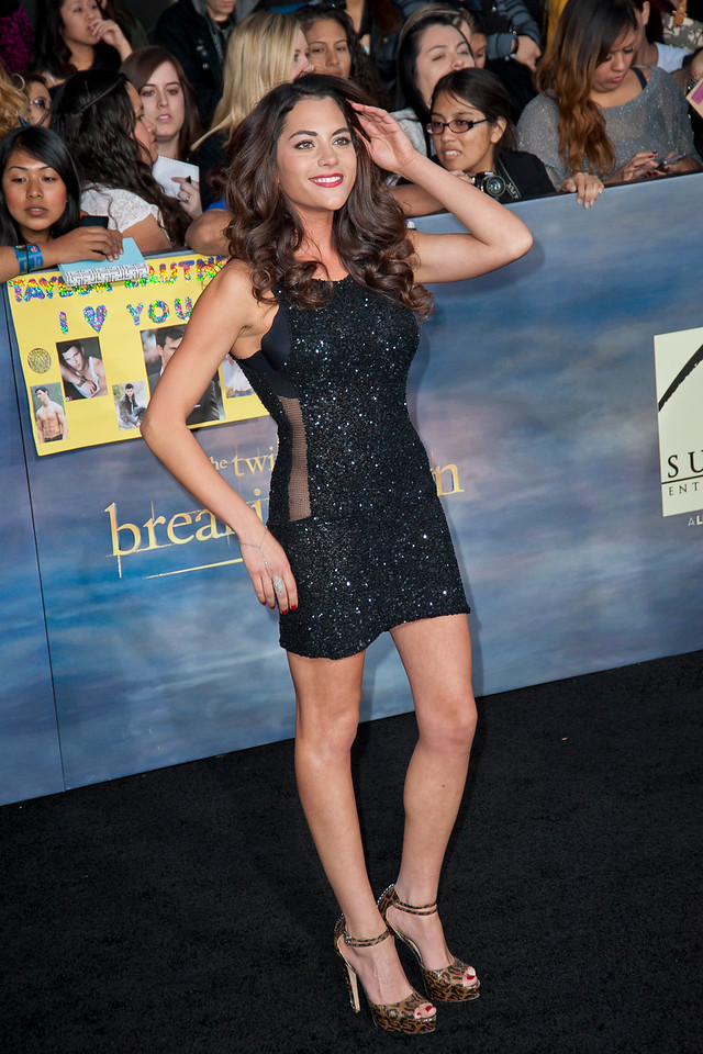 LOS ANGELES, CA - NOVEMBER 12: Actress Inbar Lavi arrives at the premiere of Summit Entertainment's 'The Twilight Saga: Breaking Dawn - Part 2' at Nokia Theatre L.A. Live on Monday, November 12, 2012 in Los Angeles, California. (Photo by Tom Sorensen/Moovieboy Pictures)