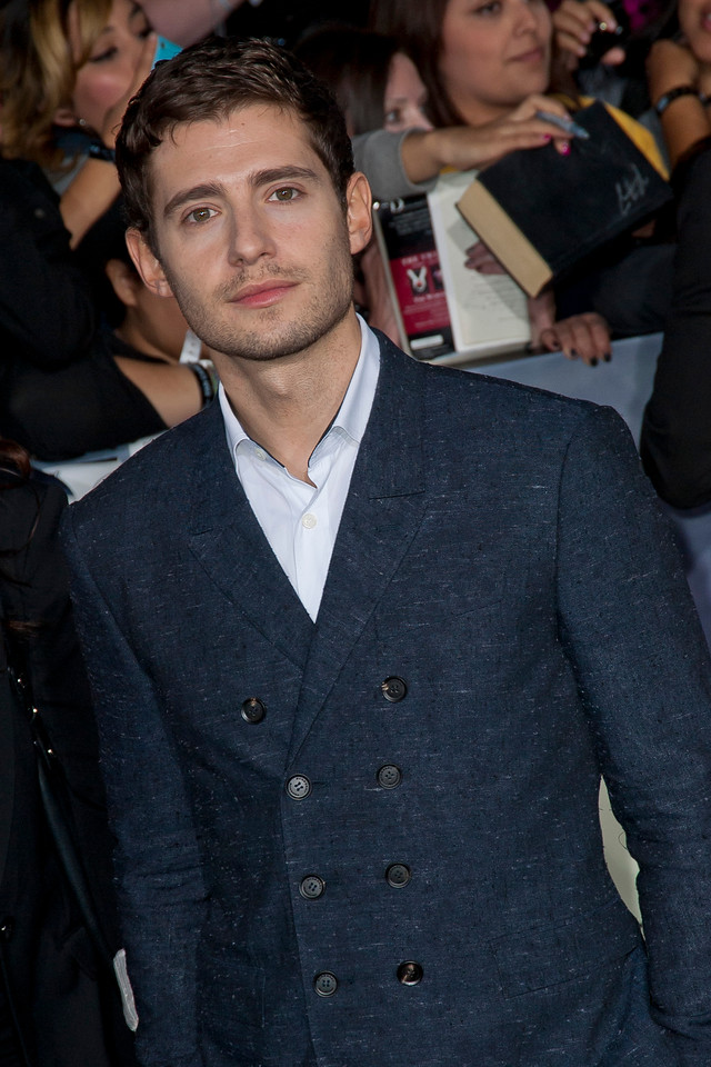 LOS ANGELES, CA - NOVEMBER 12: Actor Julian Morris arrives at the premiere of Summit Entertainment's 'The Twilight Saga: Breaking Dawn - Part 2' at Nokia Theatre L.A. Live on Monday, November 12, 2012 in Los Angeles, California. (Photo by Tom Sorensen/Moovieboy Pictures)