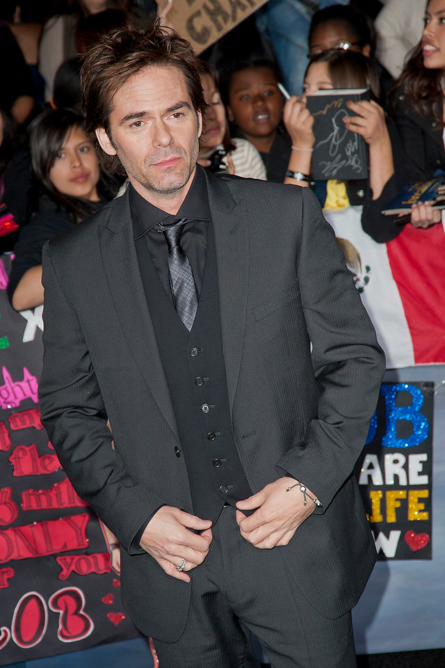 LOS ANGELES, CA - NOVEMBER 12: Actor Billy Burke arrives at the premiere of Summit Entertainment's 'The Twilight Saga: Breaking Dawn - Part 2' at Nokia Theatre L.A. Live on Monday, November 12, 2012 in Los Angeles, California. (Photo by Tom Sorensen/Moovieboy Pictures)