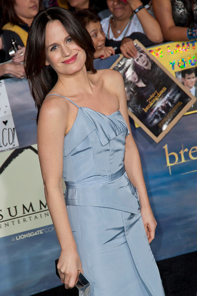 LOS ANGELES, CA - NOVEMBER 12: Actress Elizabeth Reaser arrives at the premiere of Summit Entertainment's 'The Twilight Saga: Breaking Dawn - Part 2' at Nokia Theatre L.A. Live on Monday, November 12, 2012 in Los Angeles, California. (Photo by Tom Sorensen/Moovieboy Pictures)