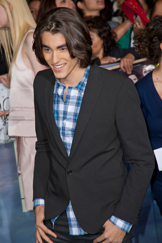 LOS ANGELES, CA - NOVEMBER 12: Actor Blake Michael arrives at the premiere of Summit Entertainment's 'The Twilight Saga: Breaking Dawn - Part 2' at Nokia Theatre L.A. Live on Monday, November 12, 2012 in Los Angeles, California. (Photo by Tom Sorensen/Moovieboy Pictures)