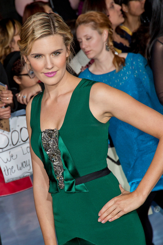 LOS ANGELES, CA - NOVEMBER 12: Actress Maggie Grace arrives at the premiere of Summit Entertainment's 'The Twilight Saga: Breaking Dawn - Part 2' at Nokia Theatre L.A. Live on Monday, November 12, 2012 in Los Angeles, California. (Photo by Tom Sorensen/Moovieboy Pictures)
