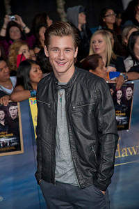 LOS ANGELES, CA - NOVEMBER 12: Actor Luke Benward arrives at the premiere of Summit Entertainment's 'The Twilight Saga: Breaking Dawn - Part 2' at Nokia Theatre L.A. Live on Monday, November 12, 2012 in Los Angeles, California. (Photo by Tom Sorensen/Moovieboy Pictures)