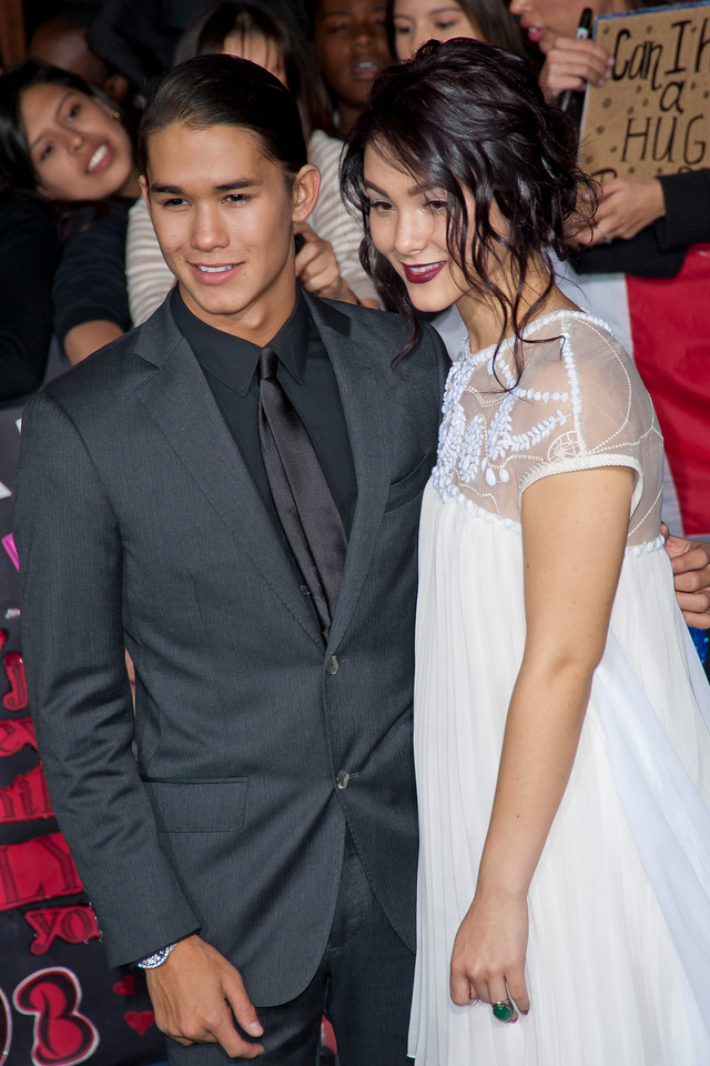 LOS ANGELES, CA - NOVEMBER 12: Actors Boo Boo Stewart and Fivel Stewart arrives at the premiere of Summit Entertainment's 'The Twilight Saga: Breaking Dawn - Part 2' at Nokia Theatre L.A. Live on Monday, November 12, 2012 in Los Angeles, California. (Photo by Tom Sorensen/Moovieboy Pictures)