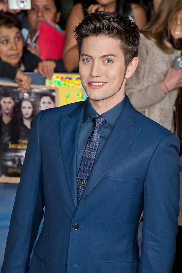 LOS ANGELES, CA - NOVEMBER 12: Actor Jackson Rathbone arrives at the premiere of Summit Entertainment's 'The Twilight Saga: Breaking Dawn - Part 2' at Nokia Theatre L.A. Live on Monday, November 12, 2012 in Los Angeles, California. (Photo by Tom Sorensen/Moovieboy Pictures)
