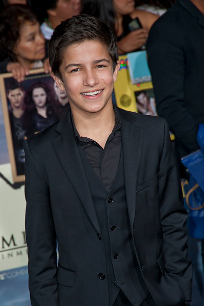 LOS ANGELES, CA - NOVEMBER 12: Actor Aramis Knight arrives at the premiere of Summit Entertainment's 'The Twilight Saga: Breaking Dawn - Part 2' at Nokia Theatre L.A. Live on Monday, November 12, 2012 in Los Angeles, California. (Photo by Tom Sorensen/Moovieboy Pictures)