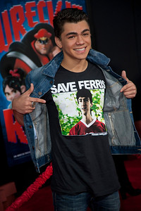 HOLLYWOOD, CA - OCTOBER 29: Actor Adam Irigoyen at the Premiere Of Walt Disney Animation Studios' 'Wreck-It Ralph' - Red Carpet at the El Capitan Theatre on Monday, October 29, 2012 in Hollywood, California. (Photo by Tom Sorensen/Moovieboy Pictures)
