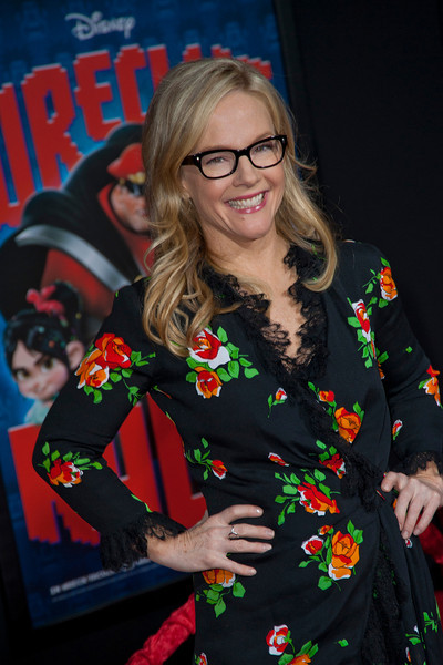 HOLLYWOOD, CA - OCTOBER 29: Actress Rachael Harris at the Premiere Of Walt Disney Animation Studios' 'Wreck-It Ralph' - Red Carpet at the El Capitan Theatre on Monday, October 29, 2012 in Hollywood, California. (Photo by Tom Sorensen/Moovieboy Pictures)