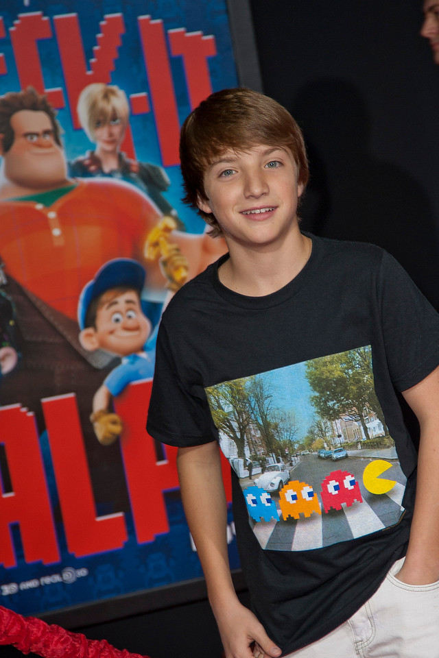 HOLLYWOOD, CA - OCTOBER 29: Actor Jake Short at the Premiere Of Walt Disney Animation Studios' 'Wreck-It Ralph' - Red Carpet at the El Capitan Theatre on Monday, October 29, 2012 in Hollywood, California. (Photo by Tom Sorensen/Moovieboy Pictures)