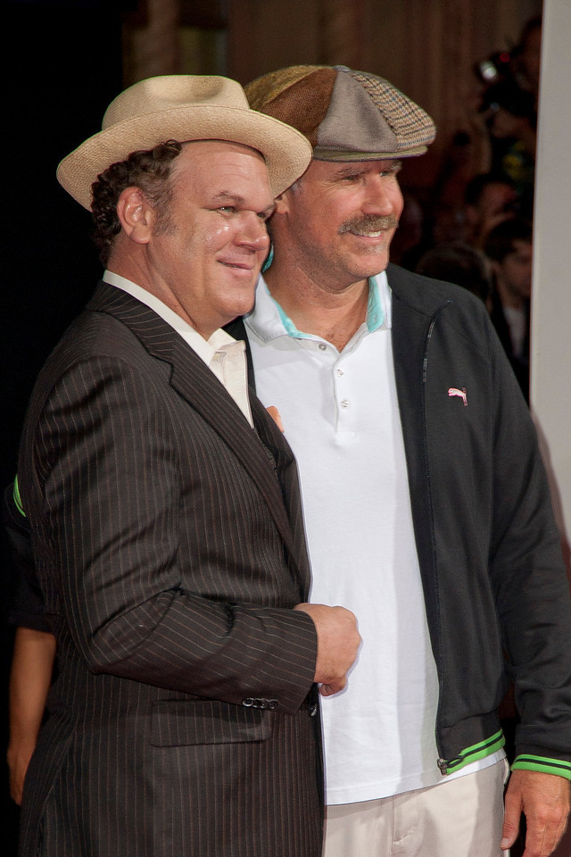 HOLLYWOOD, CA - OCTOBER 29: Actors John C. Reilly and Will Ferrell at the Premiere Of Walt Disney Animation Studios' 'Wreck-It Ralph' - Red Carpet at the El Capitan Theatre on Monday, October 29, 2012 in Hollywood, California. (Photo by Tom Sorensen/Moovieboy Pictures)