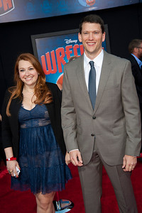 HOLLYWOOD, CA - OCTOBER 29: Josh Reynolds and guest at the Premiere Of Walt Disney Animation Studios' 'Wreck-It Ralph' - Red Carpet at the El Capitan Theatre on Monday, October 29, 2012 in Hollywood, California. (Photo by Tom Sorensen/Moovieboy Pictures)