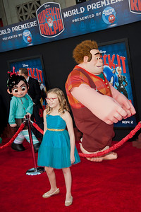 HOLLYWOOD, CA - OCTOBER 29: Actress Bebe Wood at the Premiere Of Walt Disney Animation Studios' 'Wreck-It Ralph' - Red Carpet at the El Capitan Theatre on Monday, October 29, 2012 in Hollywood, California. (Photo by Tom Sorensen/Moovieboy Pictures)