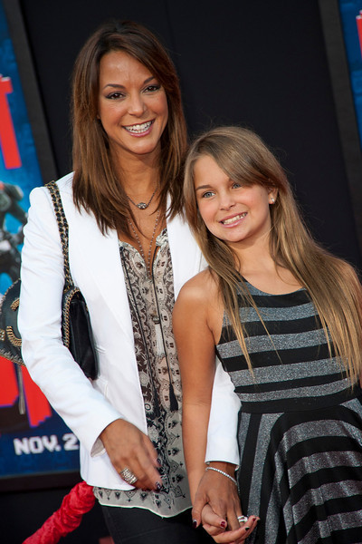 HOLLYWOOD, CA - OCTOBER 29: Actress Eva LaRue and family at the Premiere Of Walt Disney Animation Studios' 'Wreck-It Ralph' - Red Carpet at the El Capitan Theatre on Monday, October 29, 2012 in Hollywood, California. (Photo by Tom Sorensen/Moovieboy Pictures)