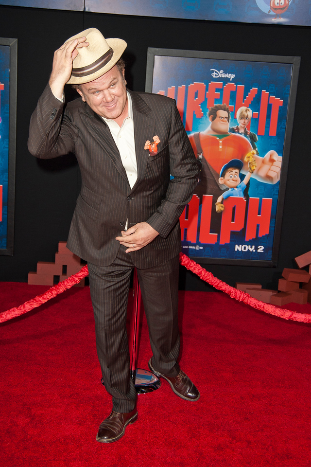HOLLYWOOD, CA - OCTOBER 29: Actor John C. Reilly at the Premiere Of Walt Disney Animation Studios' 'Wreck-It Ralph' - Red Carpet at the El Capitan Theatre on Monday, October 29, 2012 in Hollywood, California. (Photo by Tom Sorensen/Moovieboy Pictures)