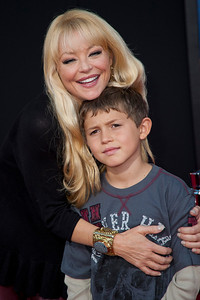 HOLLYWOOD, CA - OCTOBER 29: Actress Charlotte Ross and son at the Premiere Of Walt Disney Animation Studios' 'Wreck-It Ralph' - Red Carpet at the El Capitan Theatre on Monday, October 29, 2012 in Hollywood, California. (Photo by Tom Sorensen/Moovieboy Pictures)