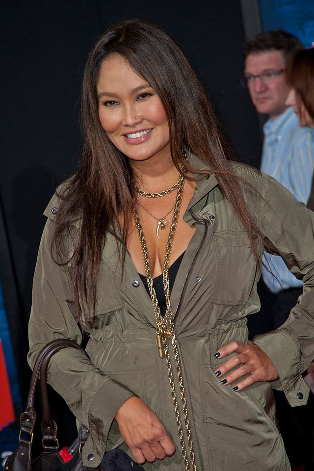 HOLLYWOOD, CA - OCTOBER 29: Actress Tia Carrere at the Premiere Of Walt Disney Animation Studios' 'Wreck-It Ralph' - Red Carpet at the El Capitan Theatre on Monday, October 29, 2012 in Hollywood, California. (Photo by Tom Sorensen/Moovieboy Pictures)