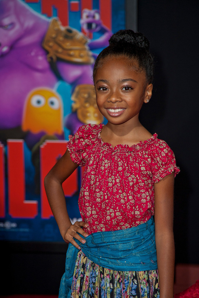 HOLLYWOOD, CA - OCTOBER 29: Actress Skai Jackson at the Premiere Of Walt Disney Animation Studios' 'Wreck-It Ralph' - Red Carpet at the El Capitan Theatre on Monday, October 29, 2012 in Hollywood, California. (Photo by Tom Sorensen/Moovieboy Pictures)