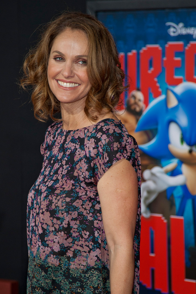 HOLLYWOOD, CA - OCTOBER 29: Actress Amy Brenneman at the Premiere Of Walt Disney Animation Studios' 'Wreck-It Ralph' - Red Carpet at the El Capitan Theatre on Monday, October 29, 2012 in Hollywood, California. (Photo by Tom Sorensen/Moovieboy Pictures)