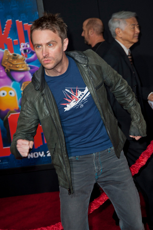 HOLLYWOOD, CA - OCTOBER 29: Chris Hardwick at the Premiere Of Walt Disney Animation Studios' 'Wreck-It Ralph' - Red Carpet at the El Capitan Theatre on Monday, October 29, 2012 in Hollywood, California. (Photo by Tom Sorensen/Moovieboy Pictures)