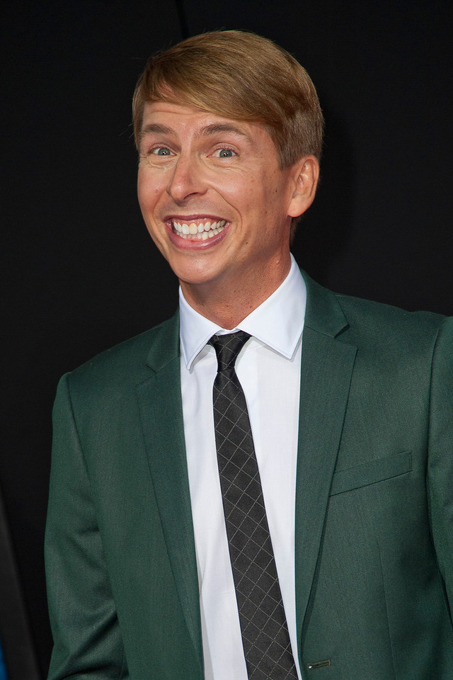 HOLLYWOOD, CA - OCTOBER 29: Actor Jack McBrayer at the Premiere Of Walt Disney Animation Studios' 'Wreck-It Ralph' - Red Carpet at the El Capitan Theatre on Monday, October 29, 2012 in Hollywood, California. (Photo by Tom Sorensen/Moovieboy Pictures)