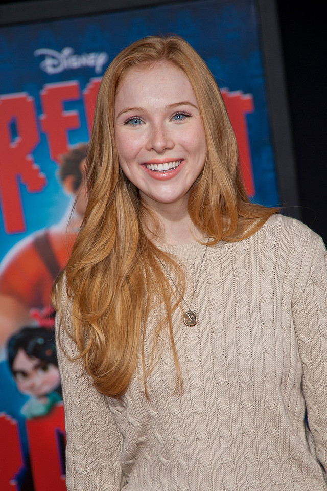 HOLLYWOOD, CA - OCTOBER 29: Actress Molly Quinn at the Premiere Of Walt Disney Animation Studios' 'Wreck-It Ralph' - Red Carpet at the El Capitan Theatre on Monday, October 29, 2012 in Hollywood, California. (Photo by Tom Sorensen/Moovieboy Pictures)