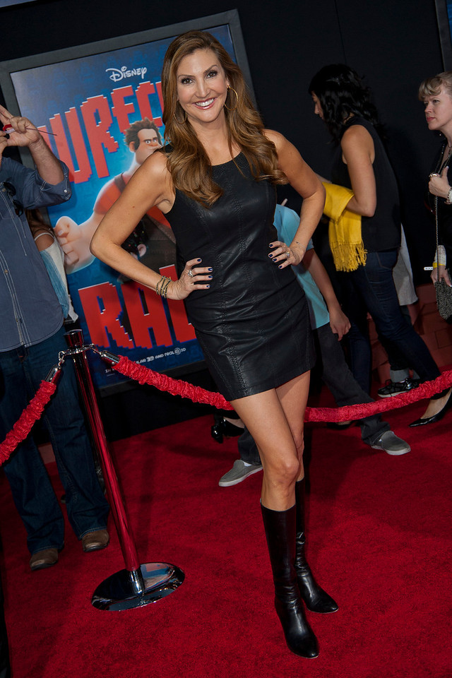 HOLLYWOOD, CA - OCTOBER 29: Actress Heather McDonald at the Premiere Of Walt Disney Animation Studios' 'Wreck-It Ralph' - Red Carpet at the El Capitan Theatre on Monday, October 29, 2012 in Hollywood, California. (Photo by Tom Sorensen/Moovieboy Pictures)