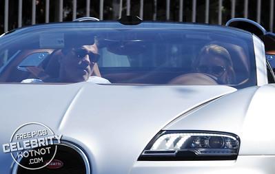 EXC: Arnold Schwarzenegger Lets Girlfriend Drive $2 Million Veyron!