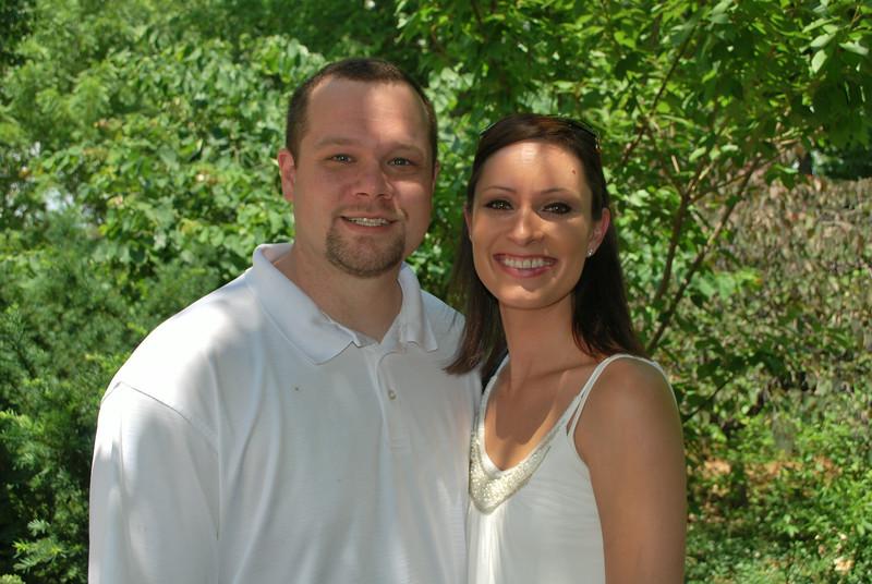 Rebekah and Chris Blake