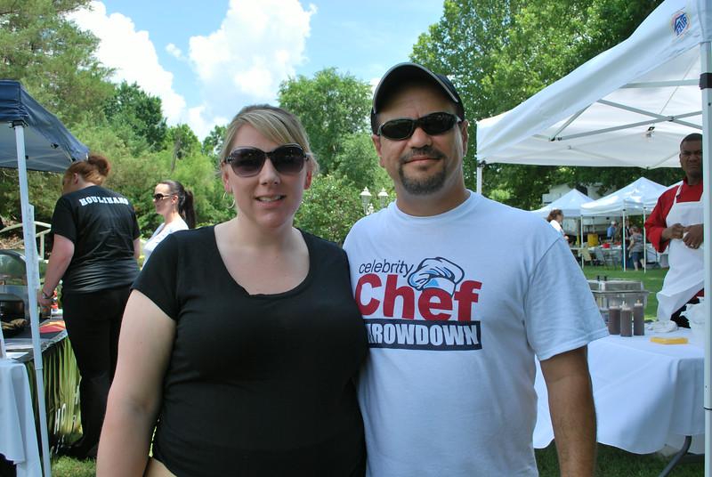 Leah and Steve Jones