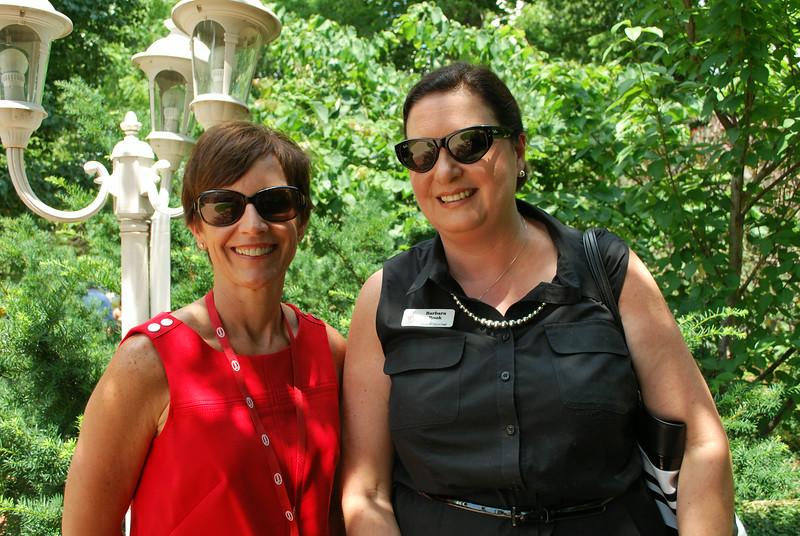 Joyce Pollard and Barbara Rook