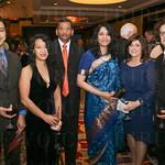 Allan Ramirez, Yvette Cua, Subie Krishna, Sathya Krishnasamy and Tamra and Rafael Perez.