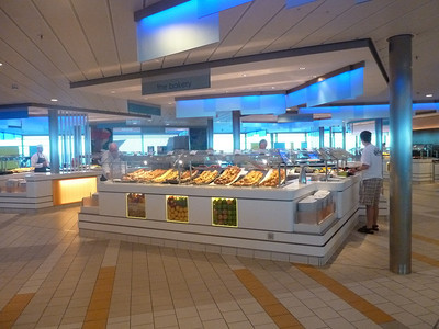 Oceanview Cafe servery