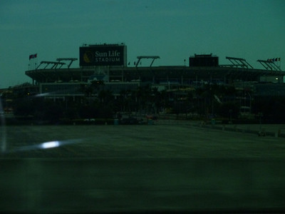 Sunlife Stadium - future home of Stanford Cardinal in the Orange Bowl, January 3, 2011! :D